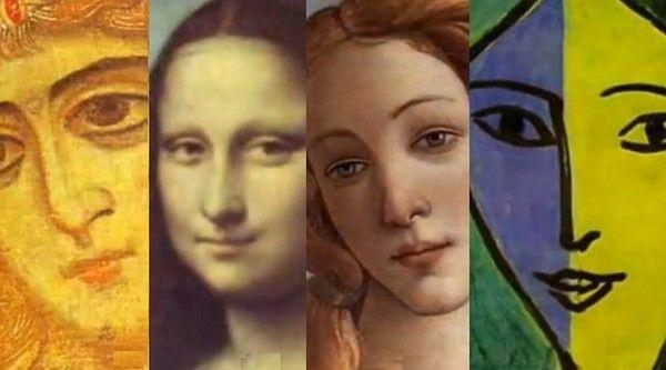 Neuf siècles de portraits de femmes en vidéo...